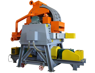Vertical high gradient magnetic separator
